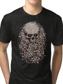 Skull & Roses Tri-blend T-Shirt