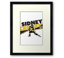 SIDNEY CROSBY | PITTSBURGH PENGUINS | CHAMPIONS | 2016 Framed Print