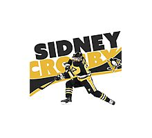 SIDNEY CROSBY   PITTSBURGH PENGUINS   CHAMPIONS   2016 Photographic Print