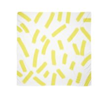Chartreuse Strokes - Brightly Spring Scarf
