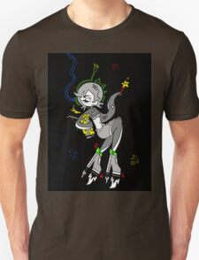 Retro Space Octopus by Lolita Tequila  Unisex T-Shirt