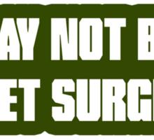 Rocket Surgeon Sticker
