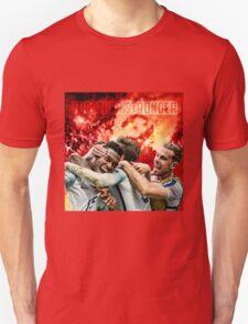 England Poster - Together Stronger Unisex T-Shirt