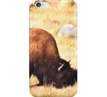 Yellowstone Bison iPhone Case/Skin