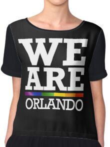 We Are Orlando Chiffon Top