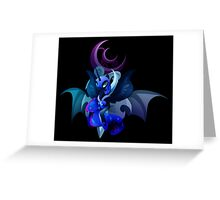 Nightmare Moon Greeting Card