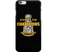 Penguins 2016 Cup Champs iPhone Case/Skin
