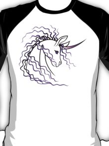 Ki-Rin (Japanese Unicorn) - Purple T-Shirt