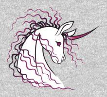 Ki-Rin (Japanese Unicorn) - Pink Kids Clothes
