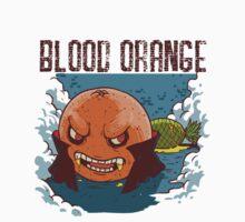 Blood Orange Vampire One Piece - Short Sleeve