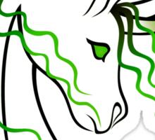 Ki-Rin (Japanese Unicorn) - Green Sticker