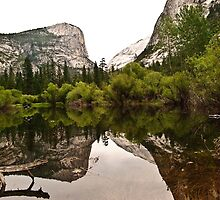 Mirror Lake Yosemite National Park by HeavenOnEarth