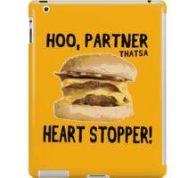 Hoo, Partner That's a Heart Stopper! iPad Case/Skin