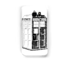 Tardis Word Art Samsung Galaxy Case/Skin