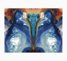 Metamorphosis - Abstract Art By Sharon Cummings Kids Tee