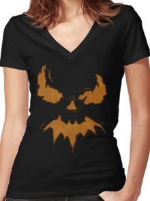 Villan Scarecrow  Women's Fitted V-Neck T-Shirt
