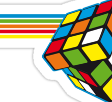 Impossible Rubiks Cube Sticker