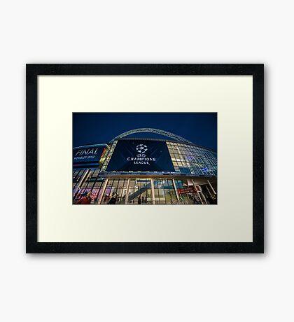 Wembley Framed Print