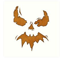 Villan Scarecrow  Art Print