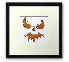 Villan Scarecrow  Framed Print