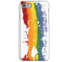 Pride Parade Rainbow Diversity by RD RIccoboni iPhone Case/Skin