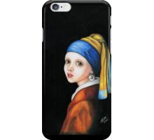 Girl with a Pearl Earring iPhone Case/Skin