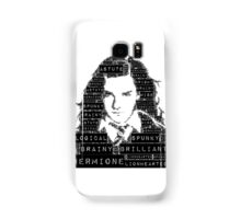 Hermione Word Art Samsung Galaxy Case/Skin