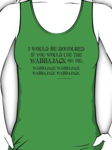 Wabbajack 1 Black for Tanktop, Scoopneck, V-neck T-Shirt
