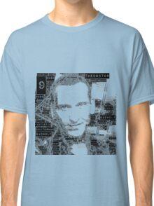 9th doctor word art Classic T-Shirt