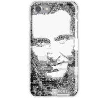 9th doctor word art iPhone Case/Skin