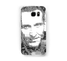 9th doctor word art Samsung Galaxy Case/Skin