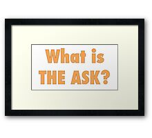 What is the ask Framed Print