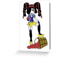 Snow Bad by Lolita Tequila Greeting Card