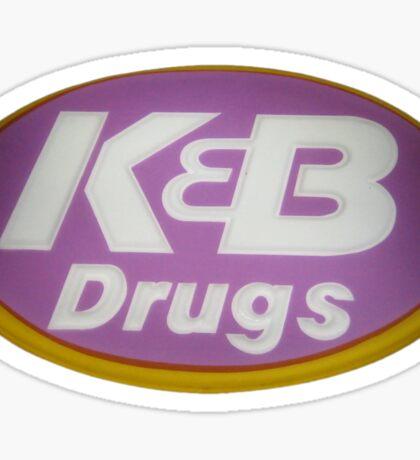K&B Drugs Sticker