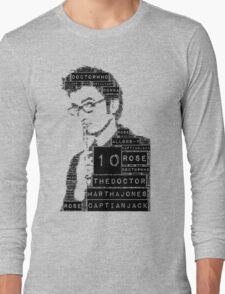 10th doctor Long Sleeve T-Shirt