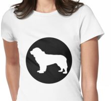 Newfoundland Dog Womens Fitted T-Shirt
