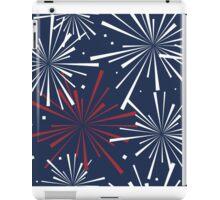Fourth of July Fireworks Pattern iPad Case/Skin