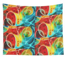 Pure Joy 1 - Abstract Art By Sharon Cummings Wall Tapestry