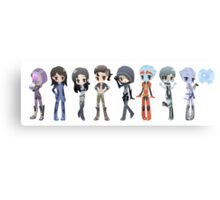 Mass Effect - The Girls Canvas Print