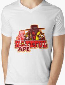 Hateful Ape Mens V-Neck T-Shirt