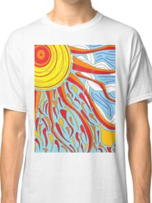 Sun and Clouds Classic T-Shirt