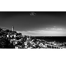 The lighthouse of Trieste Photographic Print