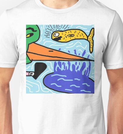 Duck with Shoes Unisex T-Shirt