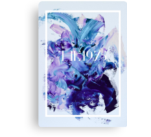 The 1975 Mess Canvas Print