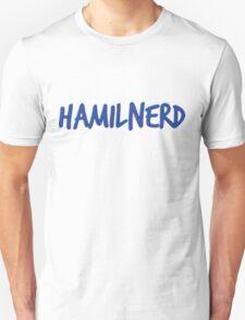 Hamilnerd Blue Unisex T-Shirt
