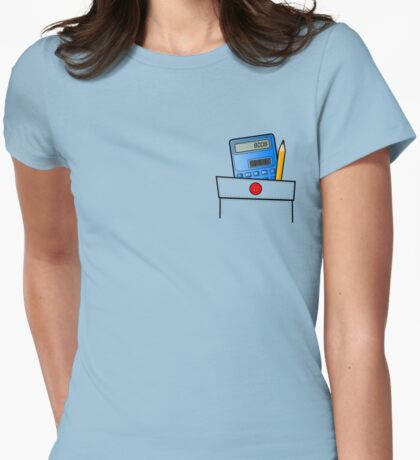 The Calculator Doesn't Lie  Womens Fitted T-Shirt