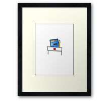 The Calculator Doesn't Lie  Framed Print