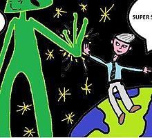 First Alien Contact  by BRautman