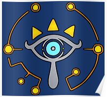 The Sheikah Slate Poster