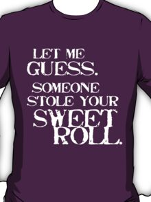 Sweetroll 1 White for everything except Tanktop, V-neck, scoop neck. T-Shirt